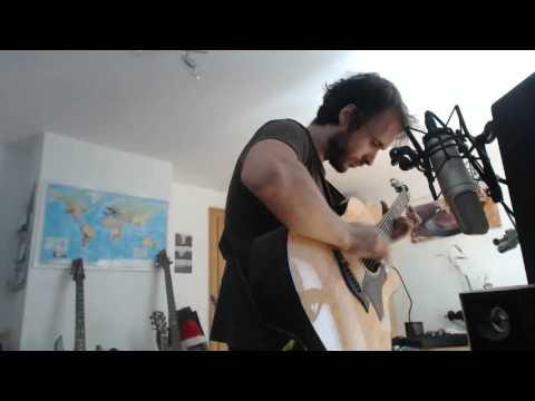 Daughter - Youth (Karaoke / Instrumental Percussive Acoustic Guitar Cover)