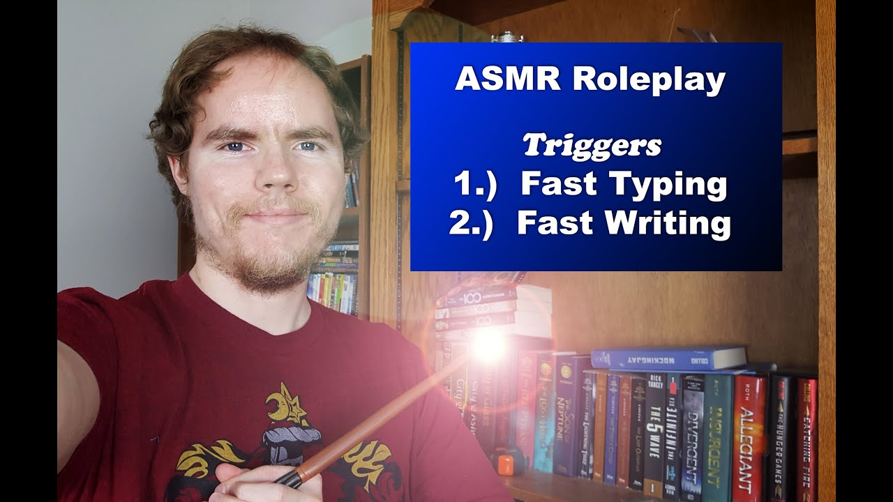 Aggressive Harry Potter ASMR Roleplay Fast Typing & Fast Writing