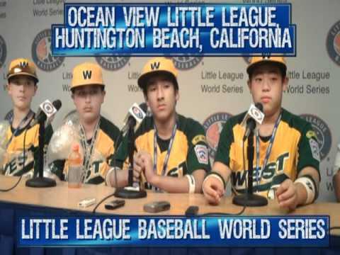 Ocean View Little League, Huntington Beach, CA, At The Little League Baseball World Series 2011