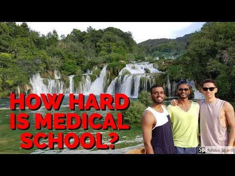How Hard is Medical School? (+Croatia Footage)