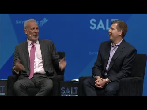 🔴 Peter Schiff Debates Bitcoin W/ Barry Silbert At 2019 SALT Conference