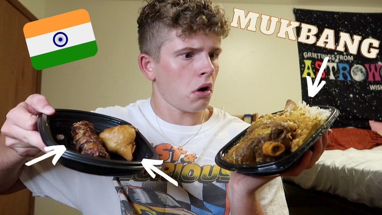 INDIAN FOOD MUKBANG