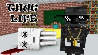 Monster School THUG LIFE CHALLENGE Minecraft Animation