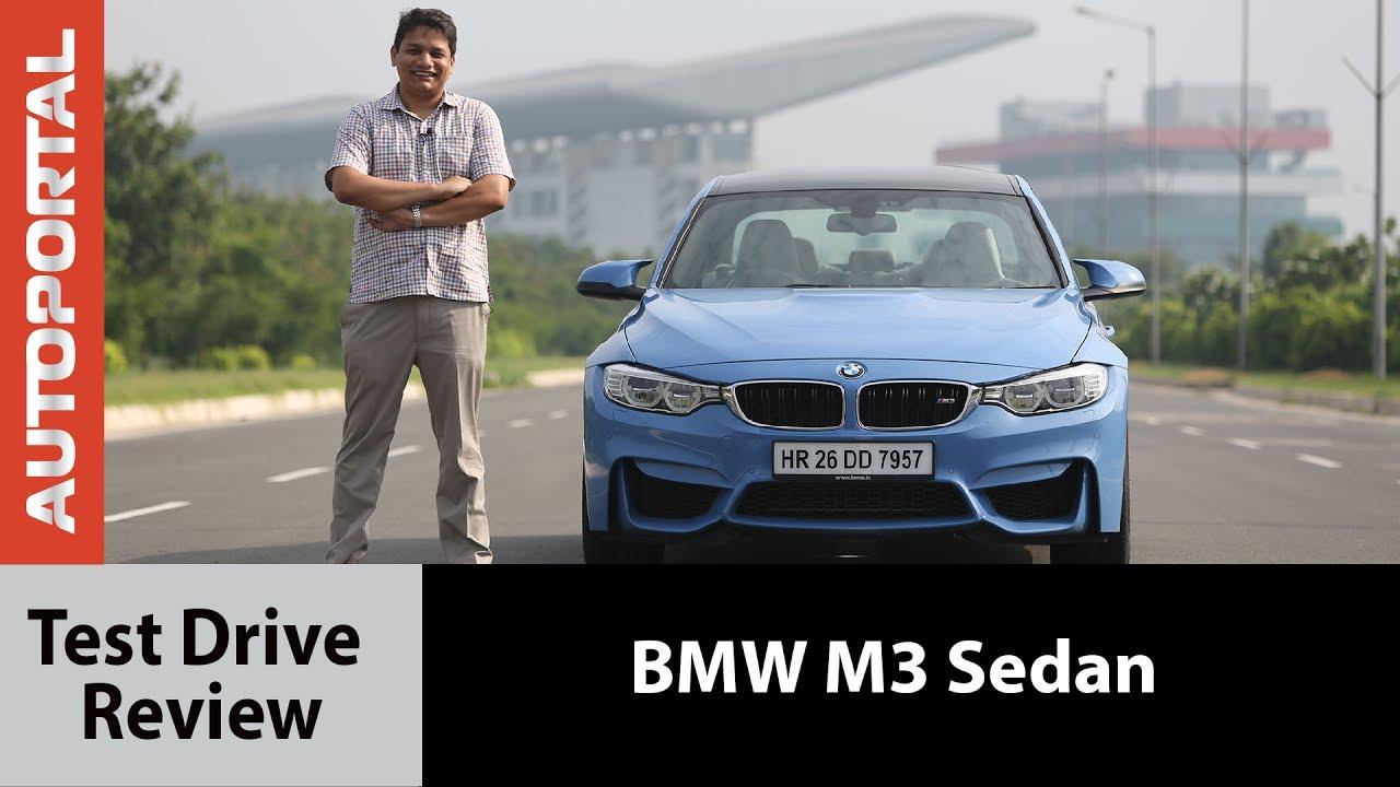 Bmw M3 Test Drive Review Autoportal Youtube