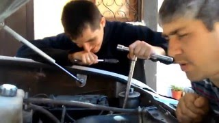Установка рулевого вала с демпфером на УАЗ Патриот