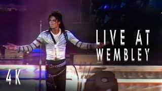 Michael Jackson: Human Nature Live at Wembley 1988 | 4K REMASTERED