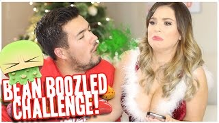 DO YOU REALLY LOVE ME..!?!? BEAN BOOZLED JELLY BEAN CHALLENGE | 25 Days Ov Christmas #7 (BF VS GF)