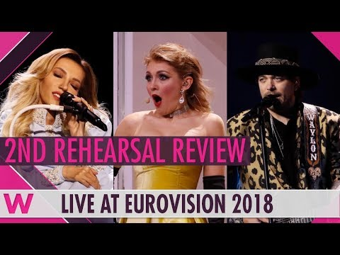 Second Rehearsals: Russia, Moldova, The Netherlands @ Eurovision 2018 (Review) | wiwibloggs