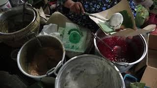 TRADITIONAL  Indonesian glutinous rice balls in a sweet soup | BUBUR JENANG PASAR LEMPUYANGAN