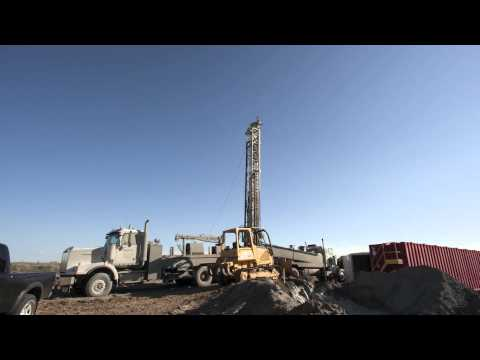 Time-Lapse of Deep Water Well Drilling in Weld County, CO