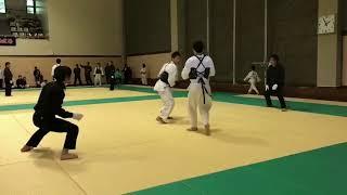 第54回 少林拳西日本選手権大会 乱取個人一般級の部 二回戦 戸山道場