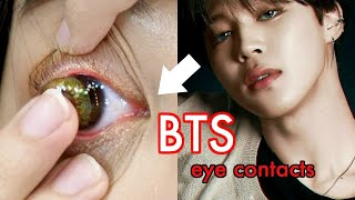 I buy $200 of BTS Contacts!!