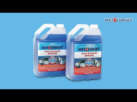 Wet & Forget | Moss, Mould & Mildew Removal for Exterior