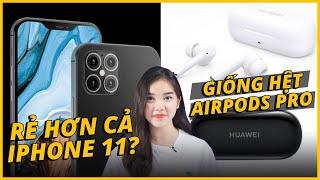 AEUPDATE: iPHONE 12 GIÁ RẺ HƠN CẢ iPHONE 11?? - HUAWEI RA MẮT TAI NGHE Y HỆT AIRPODS PRO...