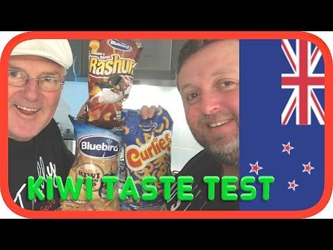 Blue Bird Snacks | Australians Taste Test New Zealand Food