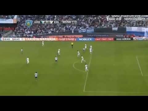 Lionel Messi Goal Argentina vs Slovenia 2 0 Friendly Match 2014