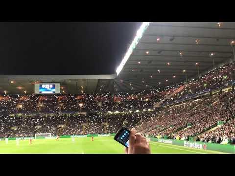 Celtic vs Bayern Munich. 67, in the heat of Lisbon