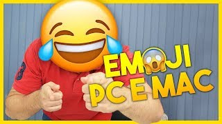 Como usar EMOJI no PC Windows e Mac