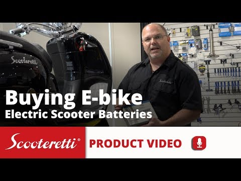 Electric Scooter Batteries - Ebike Battery - Scooteretti Canada - Ottawa - Ontario Quebec