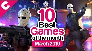 Top 10 Best Android/iOS Games - Free Games 2019 (March)