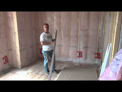 How to Build a House Completing Insulation and Starting Drywall Ep 49
