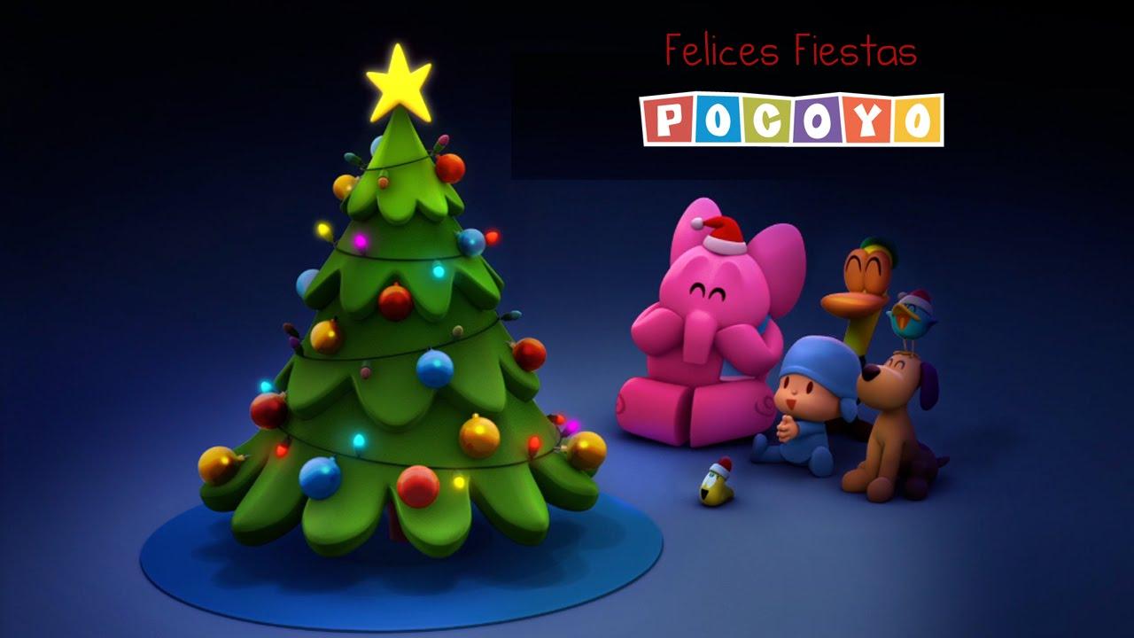 feliz navidad con pocoy decorando el rbol de navidad youtube