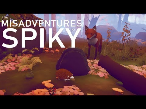 The Misadventures of Spiky - Full Gameplay - I'm a hedgehog (Free Game)
