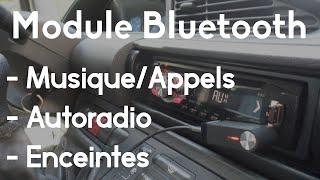 Installer le Bluetooth sur Autoradio/Enceintes Voiture | TUTO