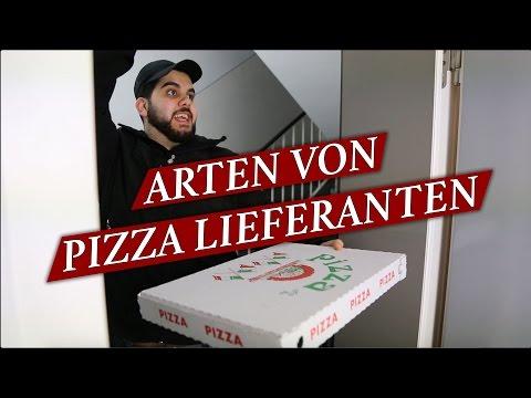 ARTEN VON PIZZA LIEFERANTEN !