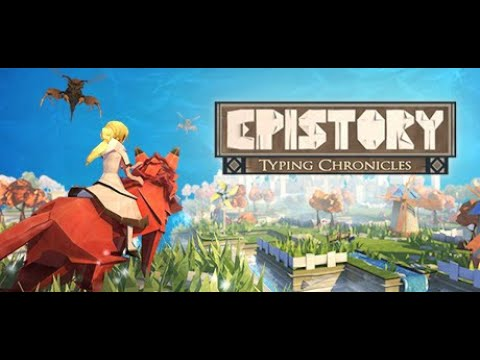 Epistory - Typing Chronicles - Stadia - Cloud Gaming - Gameplay. |