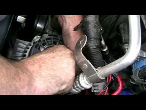 Chevy Trailblazer Alternator Replacement I6 4 2