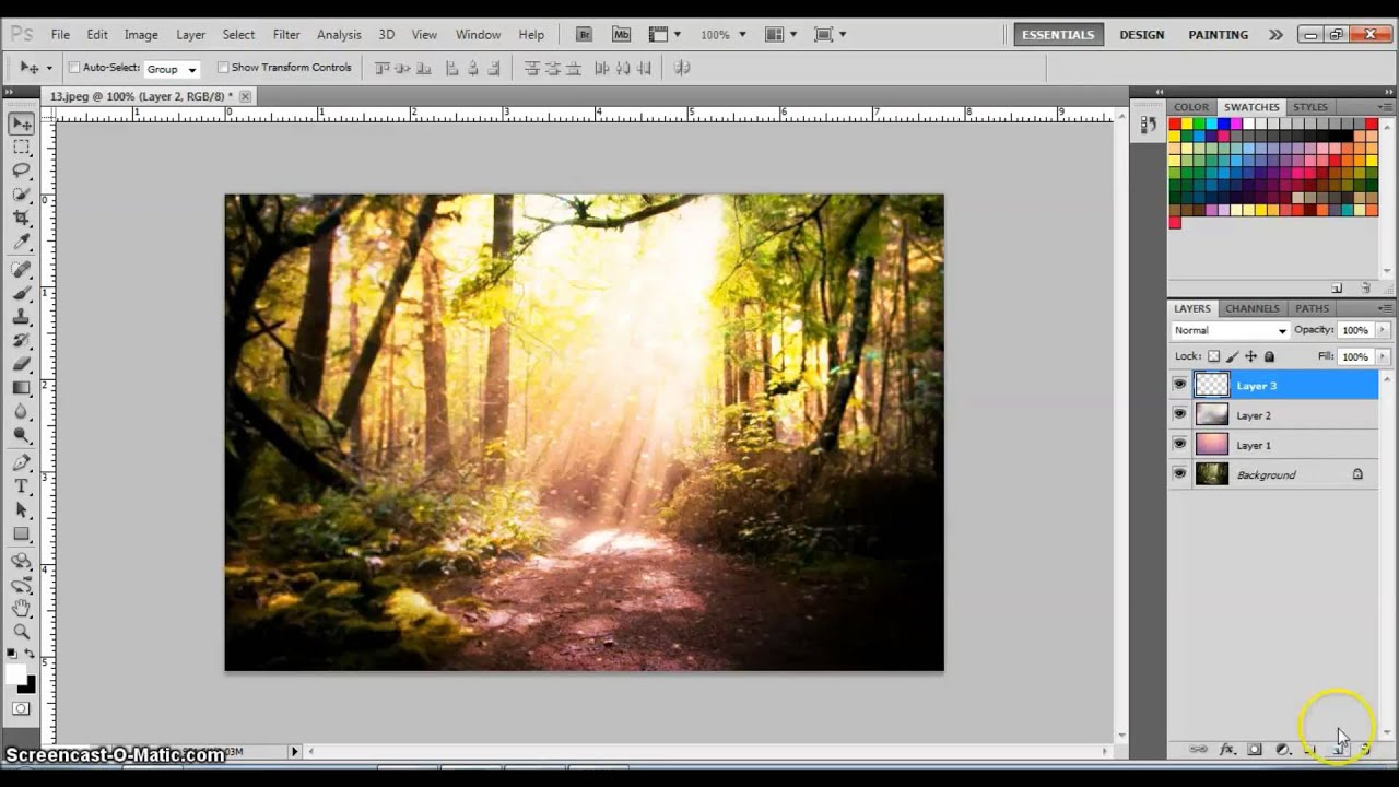How to make a magical forest effect photoshop tutorial youtube how to make a magical forest effect photoshop tutorial baditri Image collections