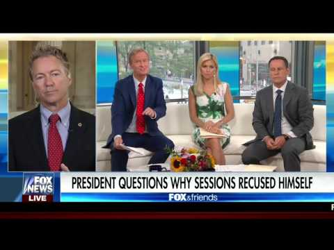 Sen. Rand Paul on Health Care and Civil Asset Forfeiture - July 20, 2017