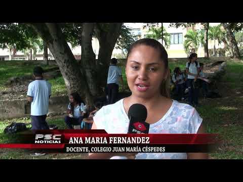 I.E Juan María Céspedes Realizó Jornada De Limpieza Al Lago Chilicote.