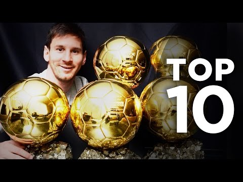 Top 10 Most Decorated Players In Europe | Lionel Messi, Johan Cruyff & Xavi!