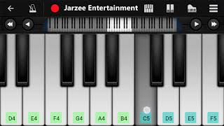 Nazm Nazm ft. Ayushmann Khurrana (Bareilly Ki Barfi) - Easy Mobile Piano Tutorial