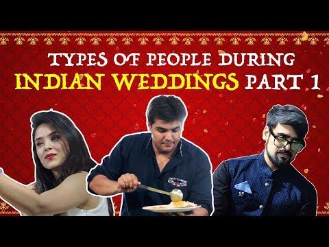 Types Of People During Indian Weddings - PART 1 | Ashish Chanchlani