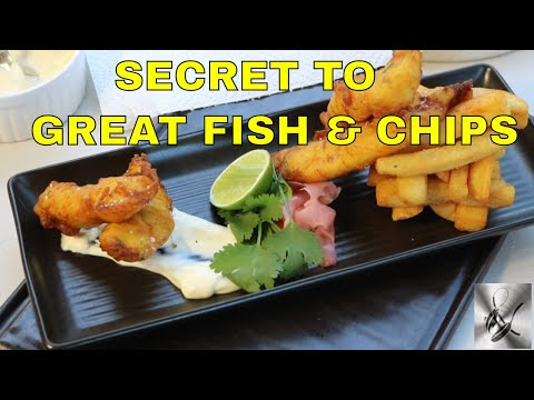 Fish & Chips |The Secret To Making It At Home| TheHookandTheCook|