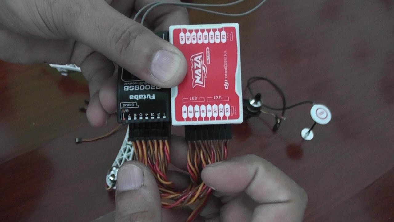 maxresdefault dji naza installation and setup new guide part 1 youtube spektrum ar8000 wiring diagram at gsmx.co