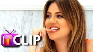 Khloe Kardashian Takes A Bath With Scott Disick