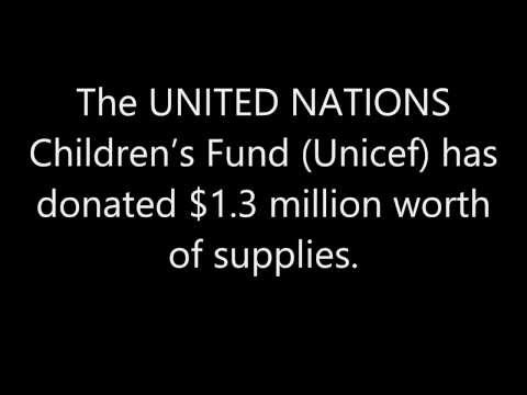 Aid to the Philippines How Much Is Each Nation Giving