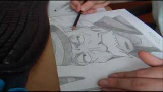 Drawing Makarov - Fairy Tail