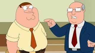 Family Guy - Peter Griffin Gets Fired As Principal