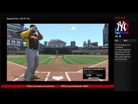 MLB THE SHOW 16 HR DERBY 500 FT CHALLENGE