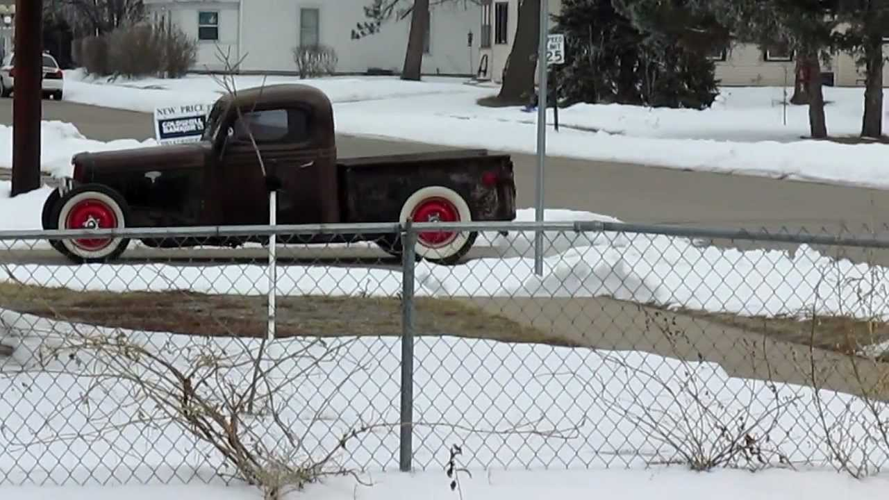 1936 Ford Pickup Rat Rod For By Kyle Bond On Ebay
