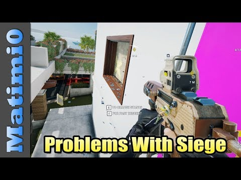 Fix It - Rainbow Six Siege Problems