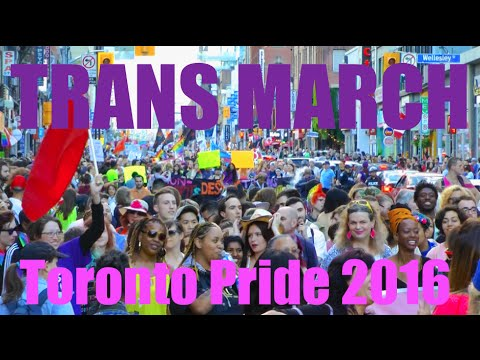 Largest Trans March In World History @ Pride 2016