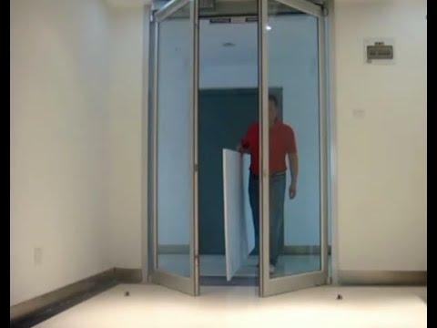 Power Swing Door Opener For Office Electric Swing Glass Door