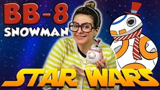 Star Wars DIY Snowman Ornament - BB8 Snowman! | Arts and Crafts with Crafty Carol