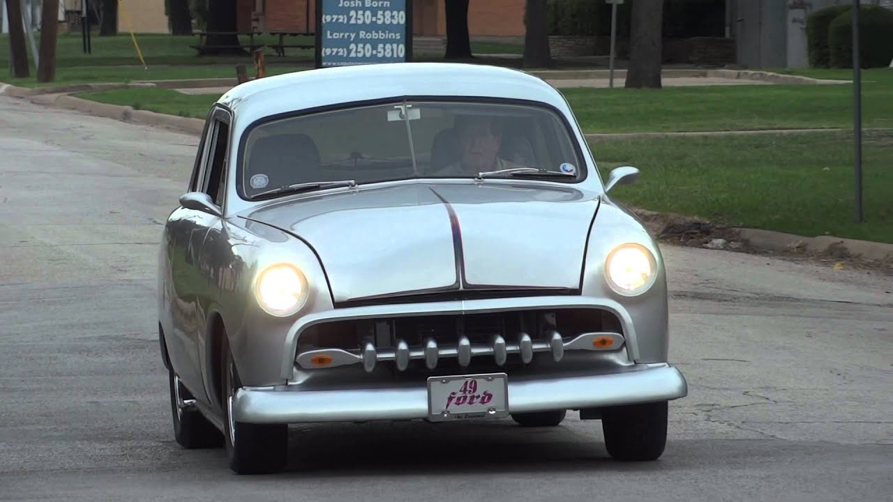 classic 1949 ford custom hot rod cruiser   youtube
